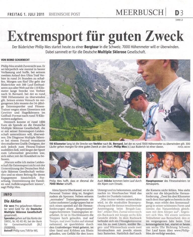 Extremsport für den guten Zweck