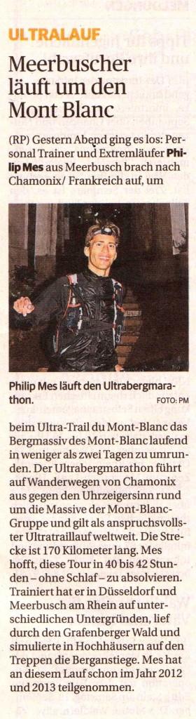 Meerbuscher Läuft um den Mont Blanc