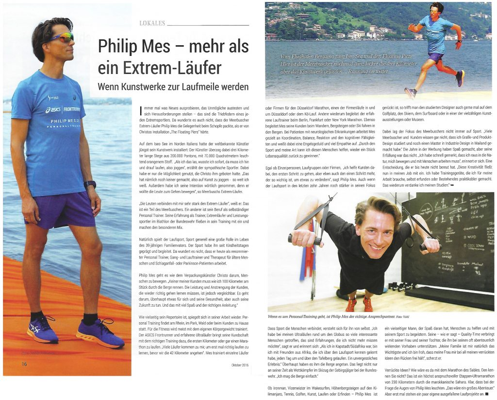 Philip Mes – mehr als ein Extremläufer