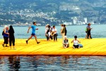 Mes Running the Floating Piers 1