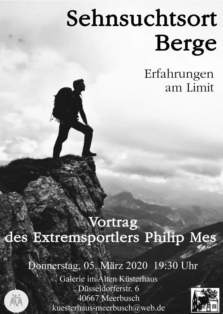 """Vortrag """"Sehnsuchtsort Berge"""" im Alten Küsterhaus in Meerbusch"""